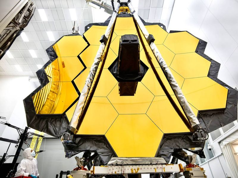 تلسکوپ وب – نگاهی اجمالی به تلسکوپ فضایی جیمز وب
