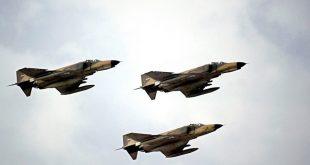 آغاز هفته دفاع مقدس - تمرین مشترک نیروی هوایی ارتش و سپاه در خلیج فارس