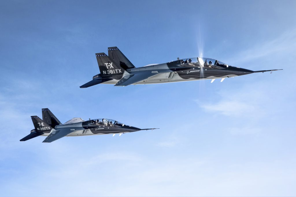 جت جنگنده آموزشی بوئینگ T-X برای آموزش نیروی هوایی ارتش امریکا انتخاب شد