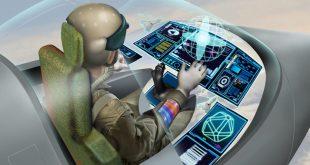 کابین خلبانی پوشیدنی - کنترل جنگنده با ردیابی چشمی