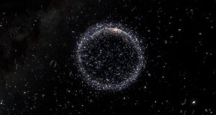 کاهش میزان زبالههای فضایی - با پیشنهاد اسپیس ایکس برای پروژه استارلینک