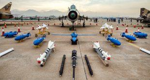 نمایشگاه دستاوردهای هوایی نیروهای مسلح در تهران افتتاح شد