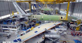 افتتاح آشیانه تعمیر هواپیما در فرودگاه امام خمینی