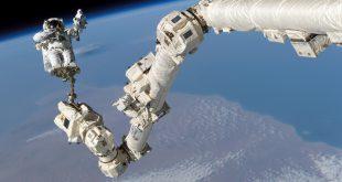 بازوی مکانیکی ایستگاه فضایی بینالمللی در فضا چه نقشی دارد؟