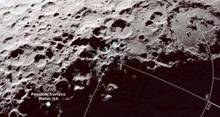 مولکولهای آب روی ماه توسط مدارگرد ناسا رصد شد