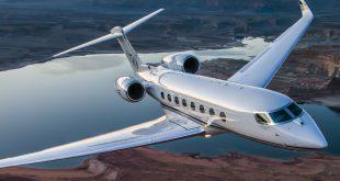 رکورد سرعت جتهای تجاری توسط هواپیمای شرکت «گلف استریم» شکست