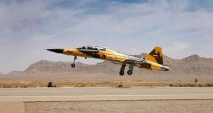 نخستین نمایش هوایی جنگنده ایرانی کوثر