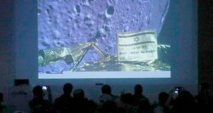 برشیت : فضاپیمای اسرائیلی که هنگام فرود در ماه متلاشی شد