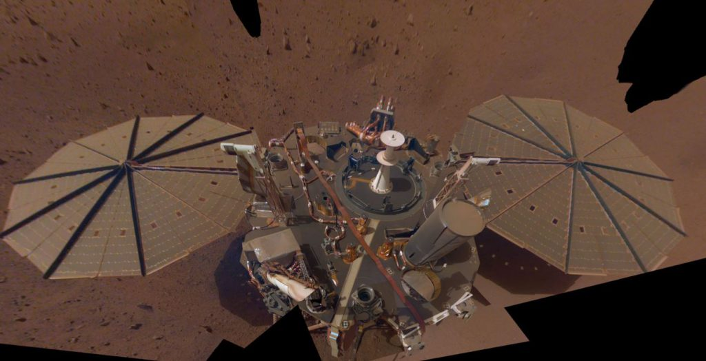 وزش باد مریخی به کمک کاوشگر اینسایت آمد
