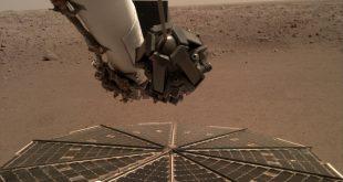کمک بادهای مریخی به از بین رفتن گردوغبارهای کاوشگر اینسایت