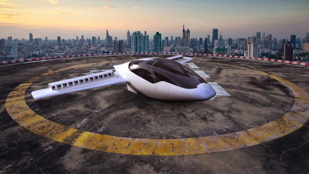تاکسی هوایی لیلیوم با موفقیت پرواز آزمایشی خود را انجام داد