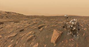 """گشت زنی کاوشگر """"کنجکاوی"""" (Curiosity) بر روی مریخ"""
