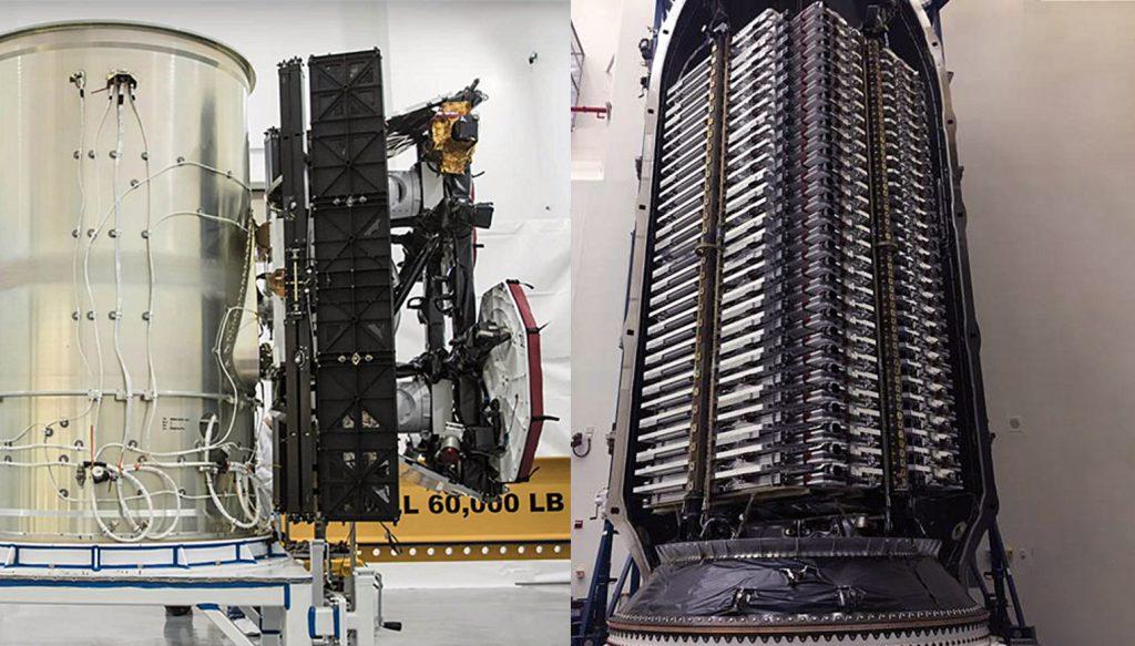 پرتاب 60 ماهواره توسط اسپیس ایکس برای تشکیل منظومه Starlink