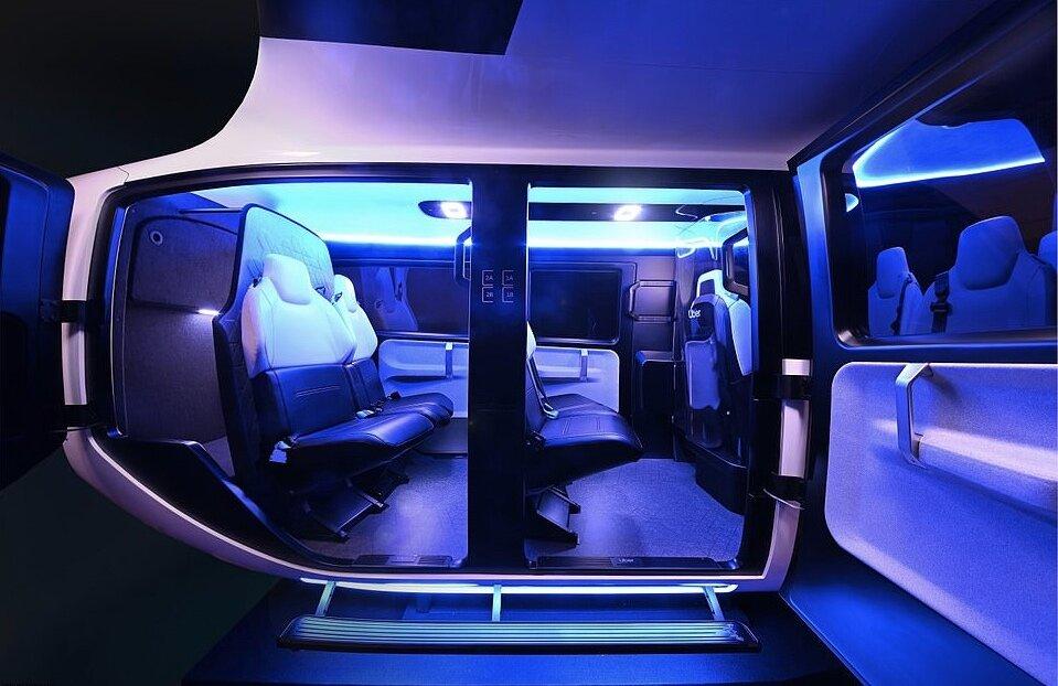 شرکت تاکسی اینترنتی اوبر از نخستین تاکسی هوایی خود رونمایی کرد