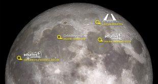 """محل فرود فضاپیماهای ناسا برای مأموریت بازگشت انسان به ماه """" آرتمیس"""" مشخص شد"""