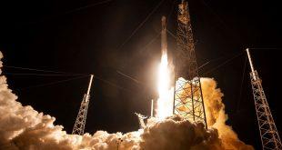 اسپیسایکس 60 ماهواره ارائهکننده اینترنت را به کمک موشک فالکون9 به فضا فرستاد