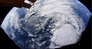 شناسایی طوفان گرمسیری بری از فضا توسط فضانوردان