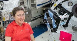 """آزمایش دستیار رباتیک در ایستگاه فضایی بینالمللی توسط """"کریستینا کخ"""""""