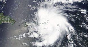ردیابی مسیر طوفان Dorian با ماهواره، توسط مرکز فضایی ناسا