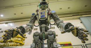 روسیه روبات Fyodor را با پرواز آزمایشی Soyuz به ایستگاه فضایی فرستاد