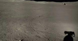 """بررسی ماده ژل مانند کشف شده در سمت پنهان ماه توسط کاوشگر چینی """"یوتو-۲"""""""