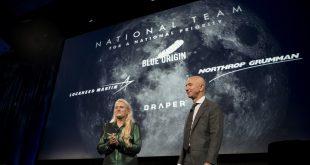 """همکاری شرکت فضایی """"بلو اوریجین"""" با ساخت ماه نشین ناسا در برنامه """"آرتمیس"""""""