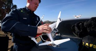 افزایش تعداد پهپادهای عملیاتی در سازمان آتشنشانی لسآنجلس