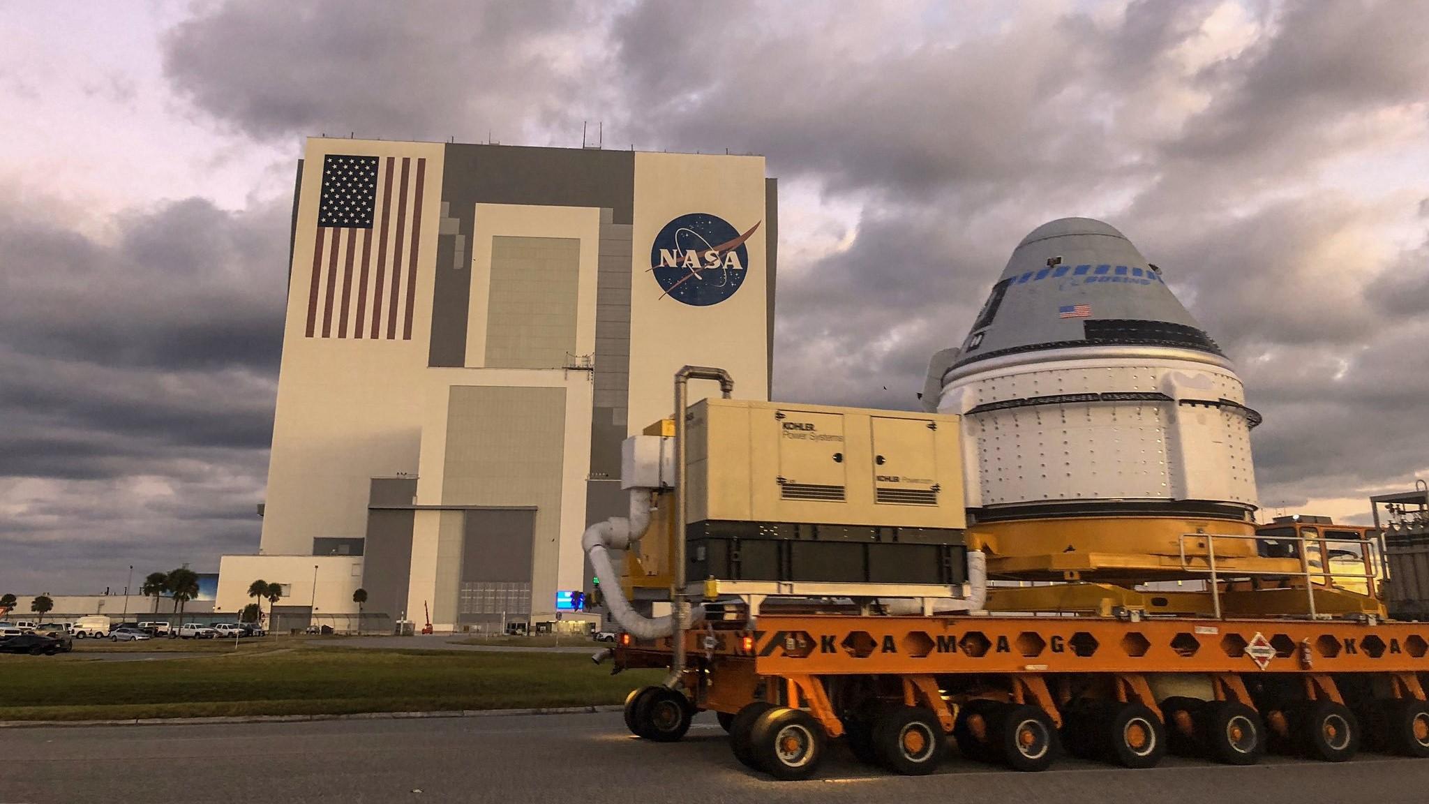 ارسال اولین کپسول فضایی Starliner بوئینگ به پایگاه پرتاب، برای پرواز آزمایشی