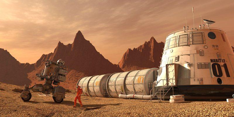 """شبیه سازی دقیق شرایط سیاره سرخ در اتاق موسوم به """"تالار مریخی"""""""