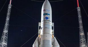 پرتاب ماهواره های مخابراتی مصری به فضا، با موشک Ariane 5