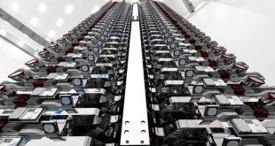 پوشش خاص ماهواره استارلینک شرکت اسپیس ایکس برای انعکاس کمتر نور