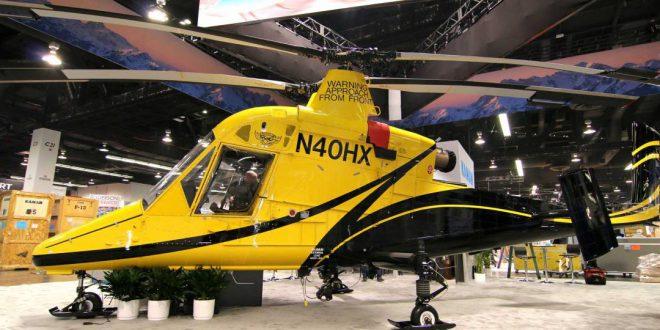هلیکوپتر بدون سرنشین K-Max برای خدمات نظامی و تجاری