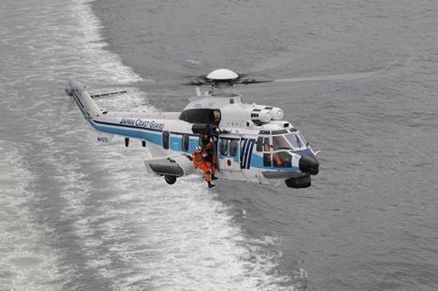 سفارش بالگرد ایرباس H225 توسط گارد ساحلی ژاپن