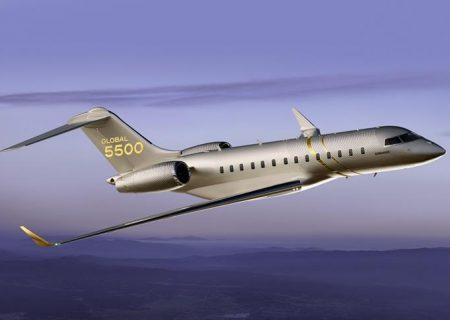 تحویل اولین هواپیمایGlobal 5500 توسط Bombardier