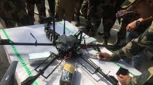 انهدام پهپاد پاکستانی توسط نیروهای امنیت مرزی هند