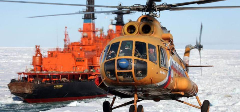 روسیه به جای فرستادن هواپیماها به قطب شمال، از پهپادها استفاده می کند