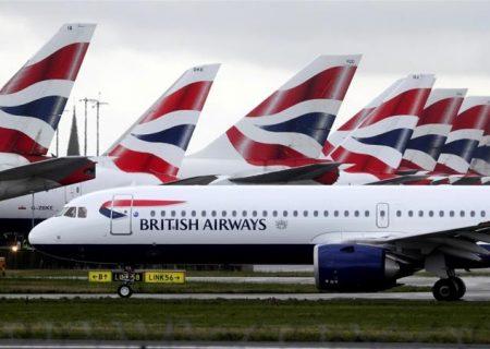 اعتراض خطوط هوایی انگلیس به قانون قرنطینه ۱۴ روزه این کشور