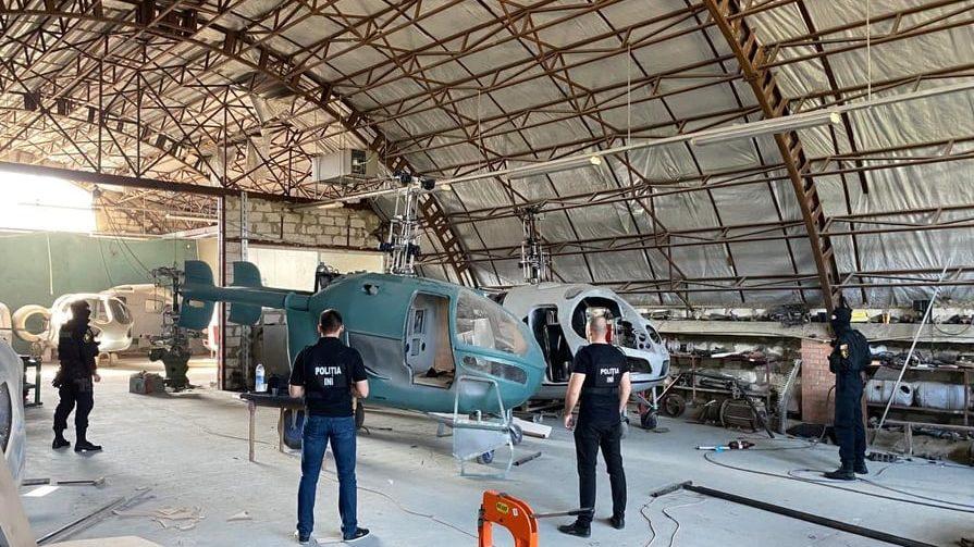 پلمپ کارخانه غیر مجاز هلیکوپترسازی Bootleg در مولداوی
