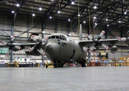 Marshall برنده قرارداد اصلاح اویونیک هواپیمای C-130 شد