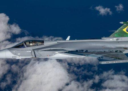 آغاز تولید جنگنده Saab Gripen توسط برزیل