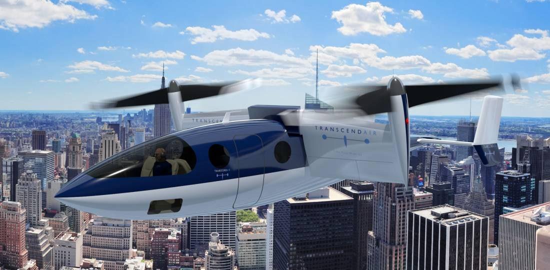 ساخت هواپیمای عمودپرواز (VTOL) برای بهرهبرداری تاکسی هوایی
